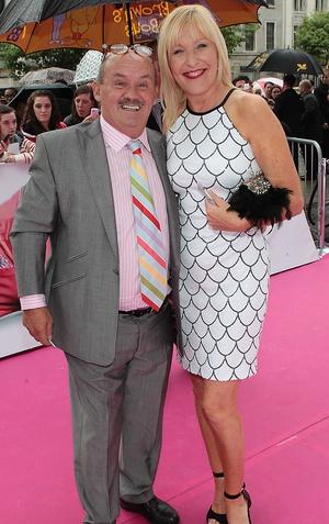 Brendan O'Carroll and wife Jenny Gibney