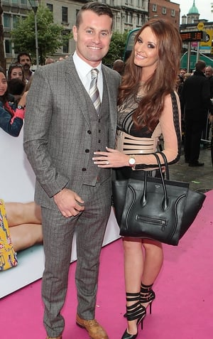 Shay Given and Rebecca Gibson