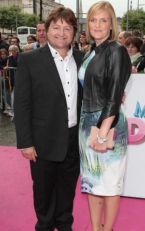 Shane Byrne and Caroline Byrne