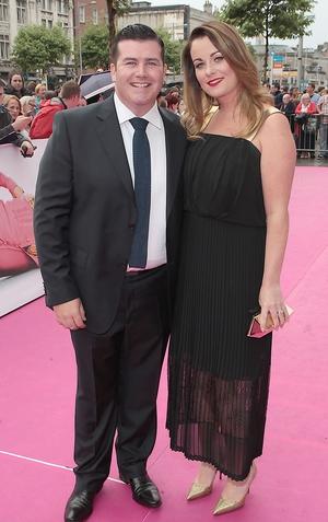 Paddy Houlihan and wife Emily Regan