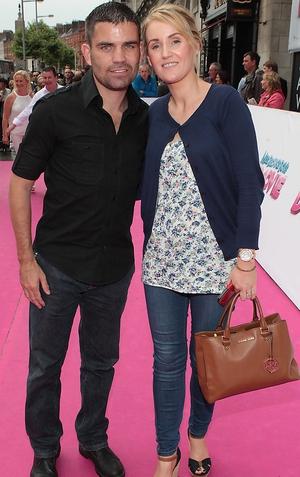 Bernard Dunne and wife Pamela