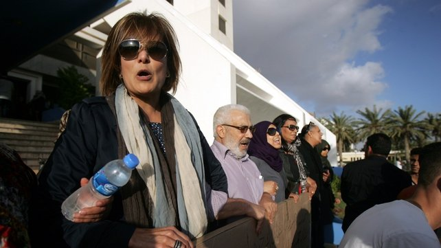 Libyan Human rights activist Salwa Bugaighis