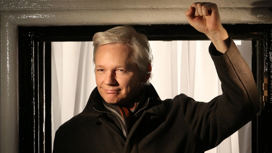 Assange speaks of 'leaving' Ecuador embassy