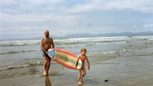 Barry and his daughter Easkey in the early years