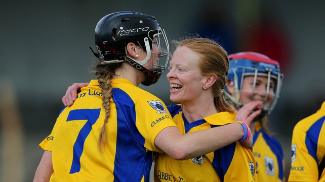 Captain Eimear Considine (l) returns to action for Clare