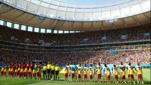 Meanwhile, Portugal and Ghana - the two bottom teams of Group H -faced off in quite a different environment in sunny Brasília