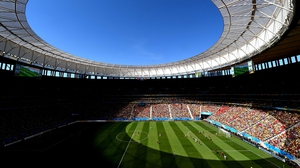 Back at the Estadio Nacional, the sun continued to shine as Portugal and Ghana re-took the field