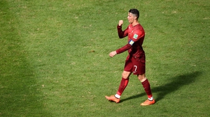 Ronaldo celebrated his only goal of this World Cup and his side's 2-1 victory over Ghana, although Portugal will now head home after finishing third in the Group