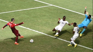 He found his revenge, though, at 80' with a strike that Dauda couldn't save in time