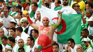 Algeria fans, meanwhile, were not impressed with their side's early deficit