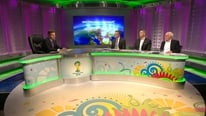 Didi Hamann on working with and learning from the other RTÉ panel, and what he was doing on his phone while Eamon...