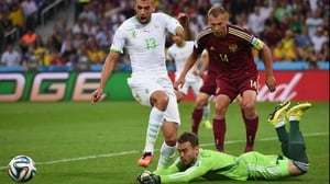 Eventually, Russia decided to sit back on their lead, which forced keeper Igor Akinfeev to maintain a vigilant guard against Algeria forward Islam Slimani and his fellows
