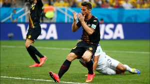 Belgium's star midfielder Dries Mertens rued a huge miss midway through the first, which he surely should have scored to put his side ahead