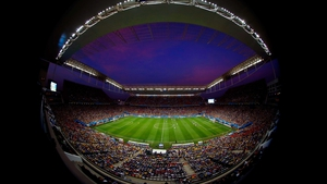And back in the Arena Corinthians, South Korea and Belgium were ready to finish up their contest