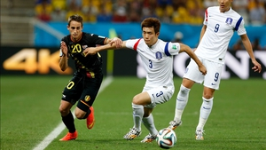 Although defender Yun Suk-Young and South Korea faced a 10-man Belgium side, midfielder Adnan Januzaj and the rest of the Red Devils seemed to take control of the match after the break