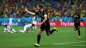 Jan Vertonghen joined in with a Belgium counter-attack to score the winner