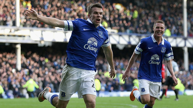 Seamus Coleman starred for Everton last season