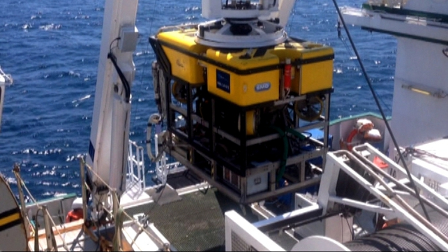 Scientists gathered the data using the specially designed Holland 1 Remotely Operated Vehicle