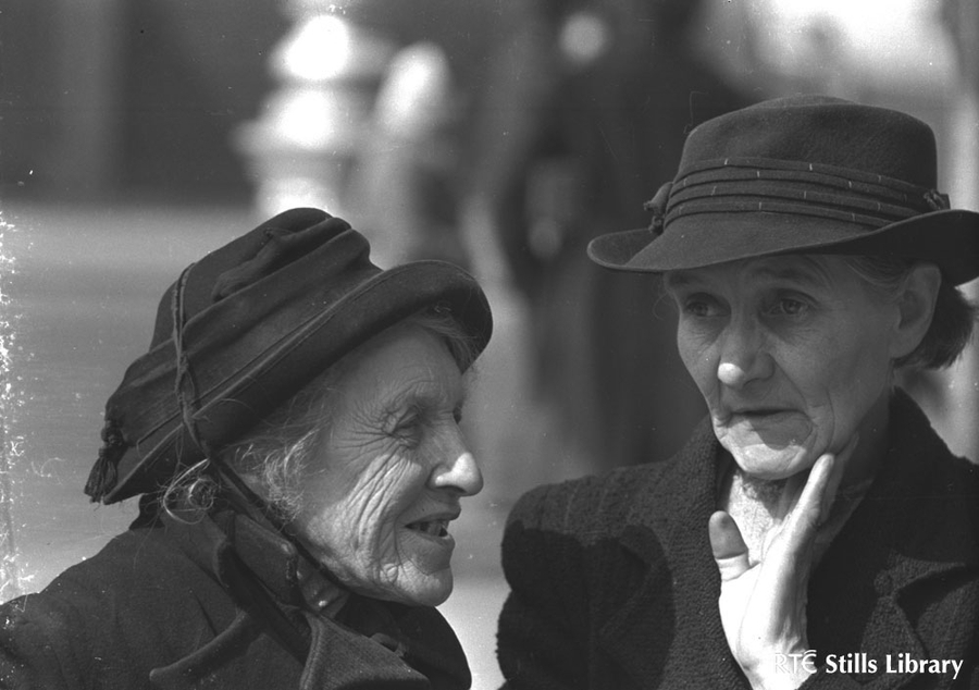 Two women, Parnell Street, Dublin