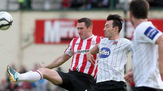 Dundalk beat Derry City 3-0 in April