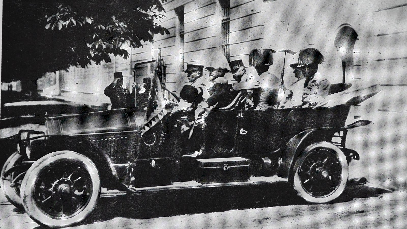 In Pictures: The Assassination of Franz Ferdinand