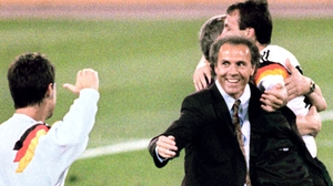 The former Germany player and manager was forced to abandon his plans to come to the World Cup in Brazil as a TV pundit