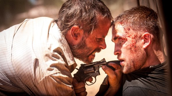 Guy Pearce and Robert Pattinson star in The Rover