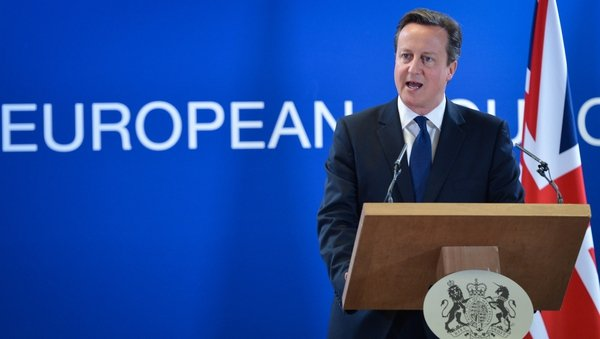 David Cameron said the nomination of Mr Juncker as president of the EC is a 'bad day for Europe'