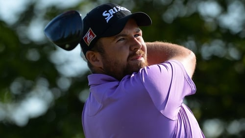 Shane Lowry finished his second round strongly