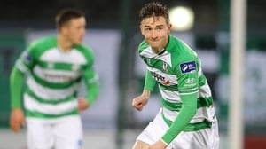 Ronan Finn was on the mark for Shamrock Rovers