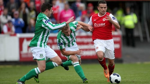 Fagan's brace proved crucial for Pat's