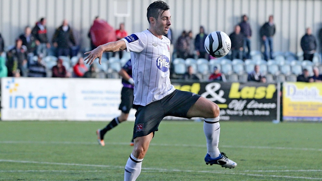 Richie Towell saved Dundalk's blushes at the Brandywell