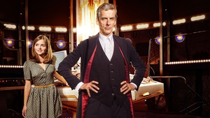 Jenna Coleman and the current Doctor Who, Peter Capaldi