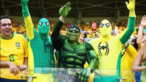 All the while, Hulk's supporters in the crowd never lost love for their hero