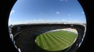 The stage was set at the Estádio Mineirão