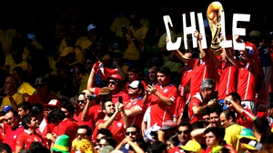 While the Chile supporters were equally confident of their chances grab a win on the day