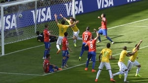 Nevertheless, the score put Brazil up 1-0 quite early on