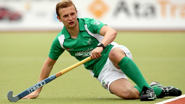Michael Watt opened the scoring for Ireland