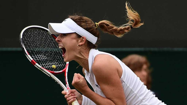 Alize Cornet dumped Serena Williams out of Wimbledon