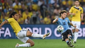 While forward Diego Forlan looked oddly indifferent toward Yepes' oncoming dive