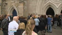 Funeral of Gerry Conlon takes place in Belfast