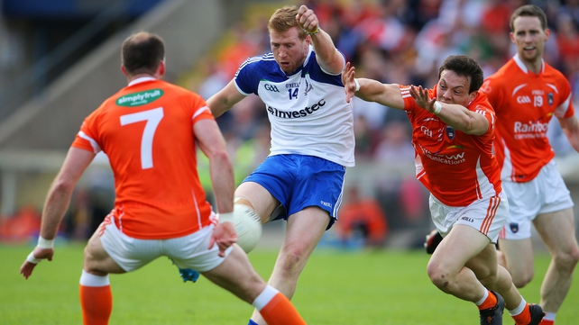 Armagh and Monaghan must meet again to decide who faces Donegal in the Ulster final