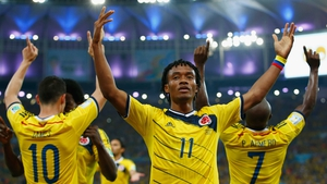 But in the end, it was Colombia's day. The squad celebrated making history for their country - Colombia will now travel to past the World Cup Round of 16 for the first time, where they will face Brazil in the quarterfinals on 4 July