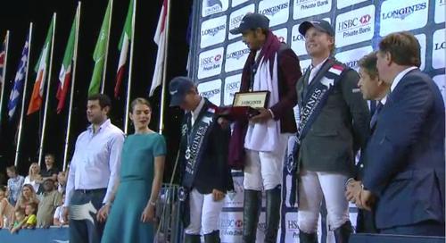 Cameron Hanley won bronze in Monaco