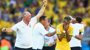 Luiz Felipe Scolari has had to plan without his best player Neymar