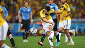James Rodriguez scores THAT goal