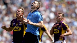 Dublin's Dean Rock reacts to a missed score - Dublin were guilty of some bad wides