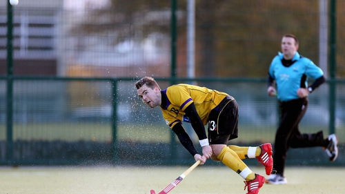 Alan Sothern, seen here in action for Pembroke, scored Ireland's second goal