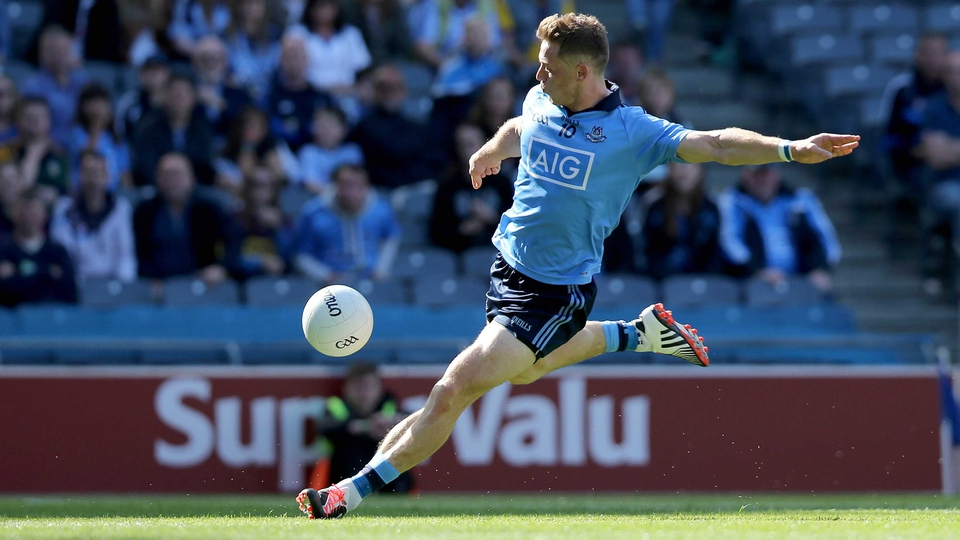 Paul Flynn thundered home Dublin's second goal late on