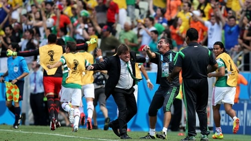 Miguel Herrera has provided much entertainment with his side-line antics
